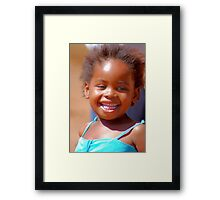 #SERIES# CHILDREN OF AFRICA, THE YOUNG AND THE OLD Framed Print