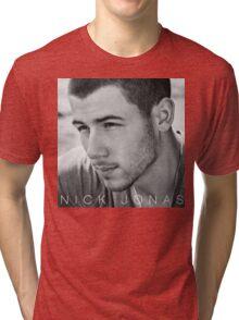 NICK JONAS ALBUMS 2 Tri-blend T-Shirt