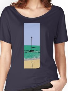 artistic licence on the sea, summer sun and seaside  Women's Relaxed Fit T-Shirt