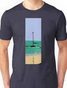 artistic licence on the sea, summer sun and seaside  Unisex T-Shirt