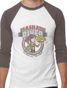 Sasha's Diner Men's Baseball ¾ T-Shirt