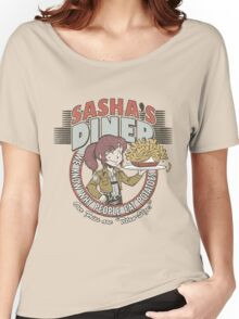 Sasha's Diner Women's Relaxed Fit T-Shirt