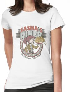 Sasha's Diner Womens Fitted T-Shirt