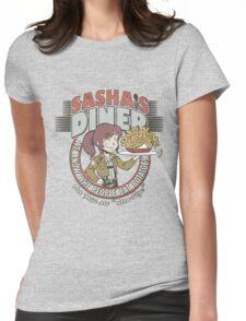 Sasha's Diner Womens Fitted T-Shirt