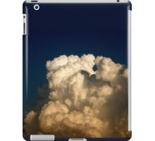 CUMULUS CLOUDS IN HIGH CONTRAST iPad Case/Skin