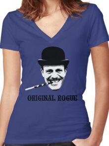 Original Rogue Women's Fitted V-Neck T-Shirt