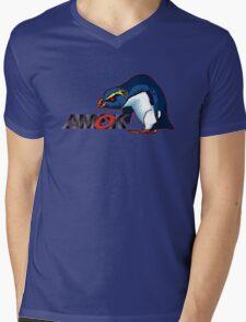 AMOK - VXP - vin the xtreme penguin Mens V-Neck T-Shirt