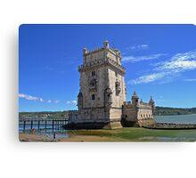 Belém Tower (Torre de São Vicente) Canvas Print
