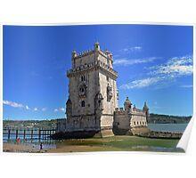 Belém Tower (Torre de São Vicente) Poster