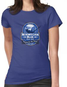Norwegian Blue Pale Ale Womens Fitted T-Shirt