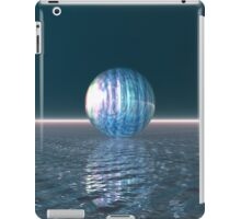 Glowing Blue Sphere iPad Case/Skin
