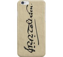 J. R. R. Tolkien Signature iPhone Case/Skin