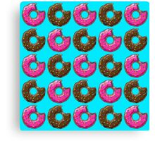 You can't buy happiness, but you can buy many DONUTS. Canvas Print