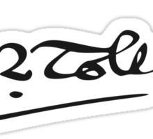 J. R. R. Tolkien Signature Sticker