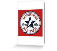 Multiverse All Star Greeting Card