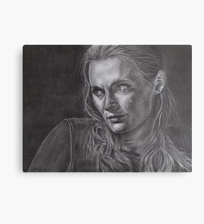 Kate Beckett - Kill shot Metal Print