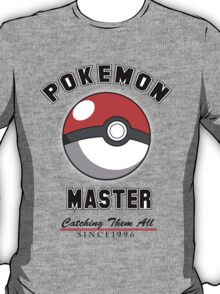 Pokemon Master (Non-faded) T-Shirt