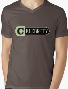 Celebrity Mens V-Neck T-Shirt