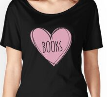 Reading books Women's Relaxed Fit T-Shirt