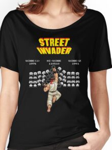 Street Invader Women's Relaxed Fit T-Shirt