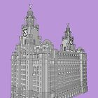 Royal Liver Building - Liverpool by Fotopia