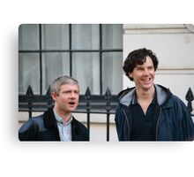 benedict and martin Canvas Print