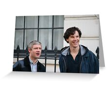 benedict and martin Greeting Card