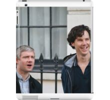 benedict and martin iPad Case/Skin