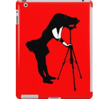 Photographer Grrl iPad Case/Skin