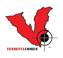Vendetta Comics Reverse Logo by vendettacomics
