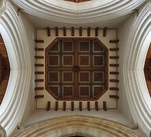 Symmetry of Ceiling at Sacred Heart Cathedral, Bendigo by Steven Jodoin