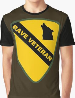 Rave Veteran - Large Graphic T-Shirt