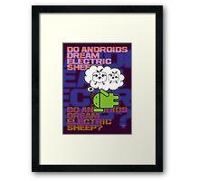 do androids dream electric sheep?  Framed Print