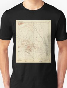 USGS TOPO Map Arizona AZ San Francisco Mtns 315604 1899 250000 Unisex T-Shirt
