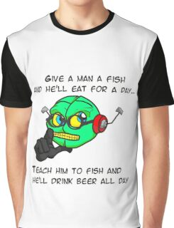 Philosobot Graphic T-Shirt