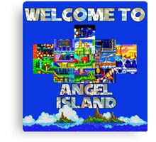 Welcome to Angel Island Canvas Print