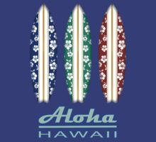 ALOHA Hawaii Surfboards by robotface