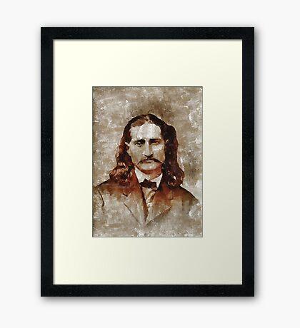 Wild Bill Kickok Framed Print