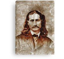 Wild Bill Kickok Canvas Print