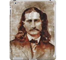 Wild Bill Kickok iPad Case/Skin