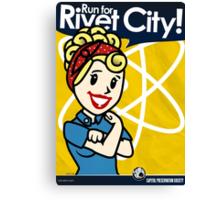 Rivet City Run Canvas Print