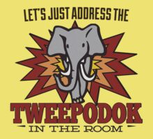 Big Bang Theory Inspired - Amy Farrah Fowler's Language - Tweepodok - Elephant - Elephant in the Room - TBBT Kids Tee