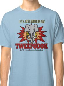 Big Bang Theory Inspired - Amy Farrah Fowler's Language - Tweepodok - Elephant - Elephant in the Room - TBBT Classic T-Shirt