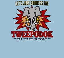 Big Bang Theory Inspired - Amy Farrah Fowler's Language - Tweepodok - Elephant - Elephant in the Room - TBBT Unisex T-Shirt