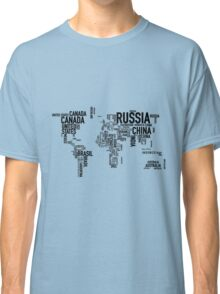 Countries of the world Classic T-Shirt