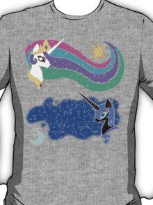 Princess Celestia and Nightmare Moon T-Shirt