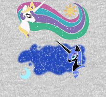 Princess Celestia and Nightmare Moon Unisex T-Shirt