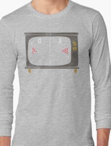 Vintage Beer Pong Long Sleeve T-Shirt