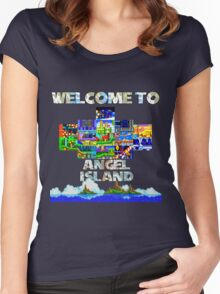 Welcome to Angel Island Women's Fitted Scoop T-Shirt