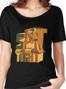 sit tight like a Sphinx Women's Relaxed Fit T-Shirt